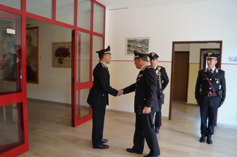 Il generale della legione Basilicata a Policoro col sindaco per fare il punto della situazione